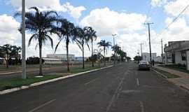 Chapadão do Sul - Chapadão do Sul-MS-Avenida principal-Foto:Cimicidio