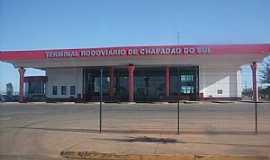 Chapadão do Sul - Chapadão do Sul-MS-Frente do Terminal Rodoviário-Foto:Leão Mapogo