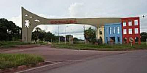 Corumbá-MS-Pórtico de entrada da cidade-Foto:Fabio de Novaes Filho