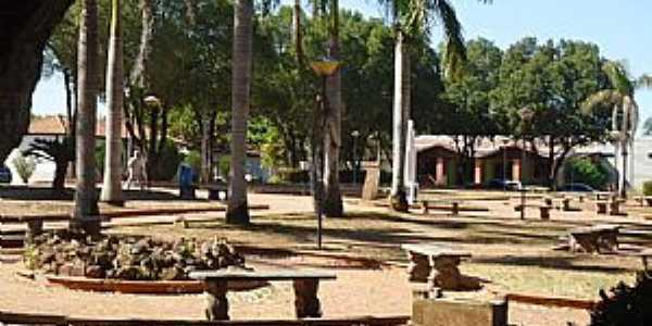 Praça Silvio Ferreira Coxim - MS imagem de Luciano Domingues Rezende