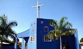 Dois Irmãos do Buriti - Igreja Matriz N.S.do Rosário foto Vicente A. Queiroz