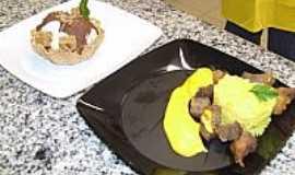 Dois Irmãos do Buriti -  Patros tipicos de Dois Irmãos do Buriti - Carne seca com pequi - Sorvete de Cambaru