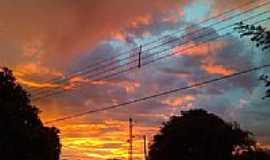 Douradina - Pôr do Sol em Douradina-Foto:Leandrogoncalves