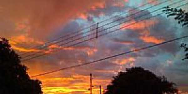 Pôr do Sol em Douradina-Foto:Leandrogoncalves