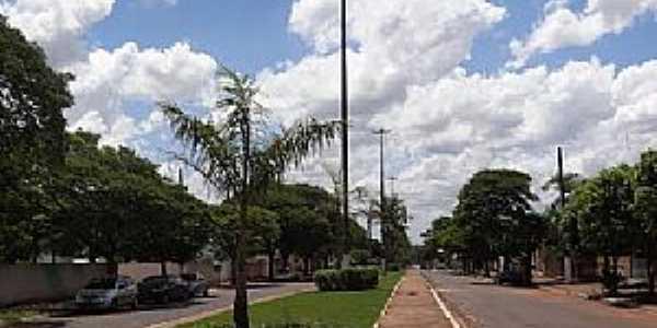 Eldorado-MS-Avenida Brasil-Foto:Paulo Yuji Takarada