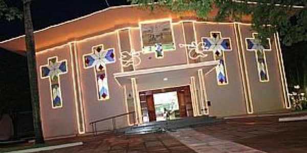Eldorado-MS-Igreja Matriz de N.Sra.Aparecida-Foto:geraldoresende.