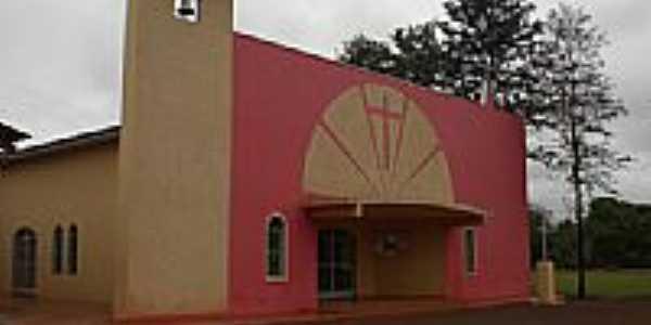 Igreja de Vila Macaúba,Distrito de Guaçu-Foto:Paulo Yuji Takarada
