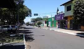 Iguatemi - Iguatemi-MS-Praça e rua do centro-Foto:Secoke Inc.