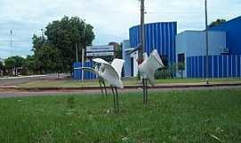 Iguatemi - Iguatemi-MS-Tuiuius na praça-Foto:Elias Castro