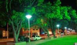 Ivinhema - praça central , Por paulo fotografo