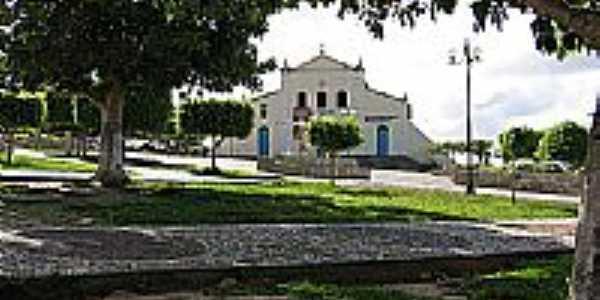 Praça e Igreja em Biritinga-Foto:daniel.biritinga