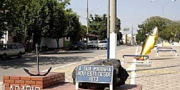 Ladário-MS-Entrada da cidade-Foto:André Bonacin