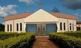 Laguna Carapã - Igreja Católica-Foto:Marcos Douglas