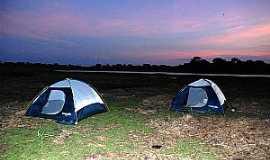 Nhecolândia - Nhecolândia-MS-Entardecer no Camping-Foto:destinodeviagem