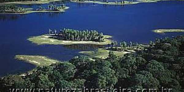 Nhecolândia-MS-Rio no Pantanal-Foto:Zig Koch