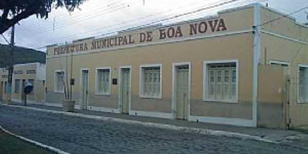 Boa Nova-BA-Prefeitura Municipal-Foto:bomjesusnoticias.
