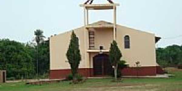 Igreja Católica no Distrito de Nova Esperança-Foto:Barth Sol