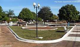 Novo Horizonte do Sul - Novo Horizonte do Sul-MS-Praça central-Foto:Sergio Falcetti