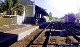 Palmeiras - Palmeiras-MS-Estação Ferroviária em 2010-Foto:J. H. Bellorio