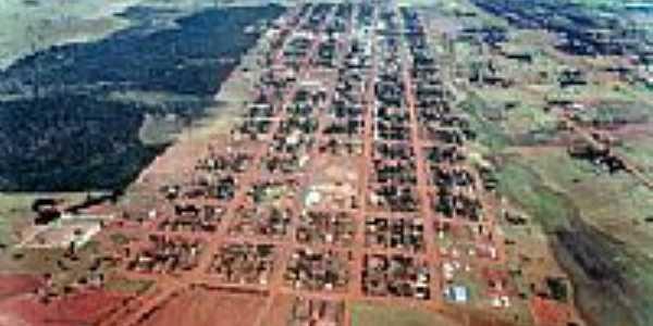Vista aérea de Paranhos-MS
