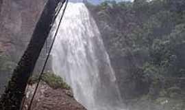 Pedro Gomes - Cachoeira da �gua Branca-Foto:Ferreiramaike