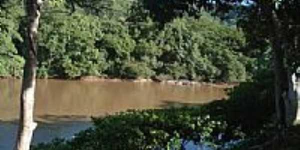 Rio Aquidauana em Piraputanga-MS-Foto:Rivaldi