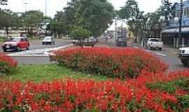 Ponta Porã - Rotatória da Av.Marechal Floriano-Foto:Paulo Yuji Takarada
