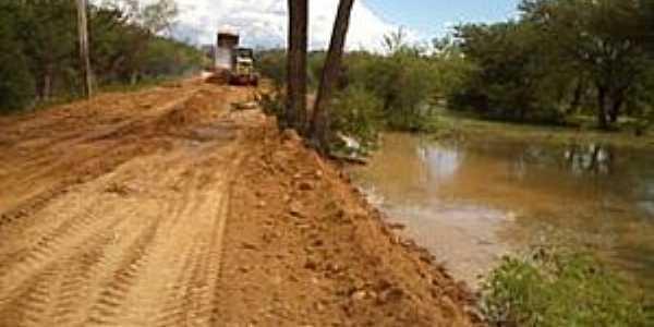 Boa Vista do Lagamar-BA-Estrada de Boa Vista-Foto:João Néris
