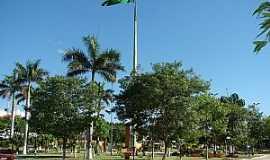 Porto Murtinho - Porto Murtinho-MS-Pra�a central-Foto:geraldoresende.com.br