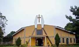 Ribas do Rio Pardo - Igreja Matriz de N.S. da Concei��o foto Vicente A. Queiroz