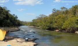 Rio Negro - Rio Negro-MS-Rio no Balneário Águas do Rio Negro-Foto:Sergio Falcetti