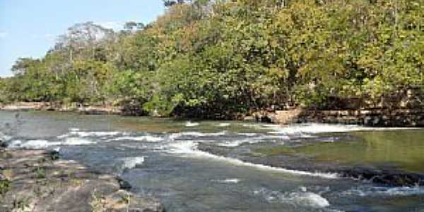 Rio Negro-MS-Rio no Balneário Águas do Rio Negro-Foto:Sergio Falcetti