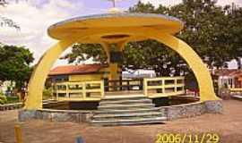 Boa Vista do Tupim - Coreto na Praça central em Boa Vista do Tupim-BA-Foto:JOAO MENDES