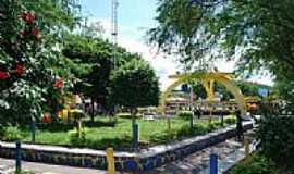 Boa Vista do Tupim - Praça central em Boa Vista do Tupim-BA-Foto:JOAO MENDES