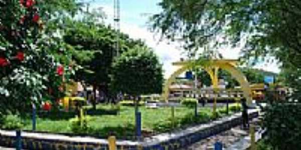 Praça central em Boa Vista do Tupim-BA-Foto:JOAO MENDES