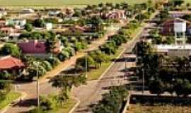 São Gabriel do Oeste - Vista aérea de rua da cidade