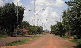 São Pedro - São Pedro-MS-Avenida central antes da Pavimentação-Foto:Cimicidio