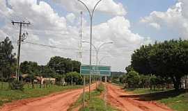 São Pedro - São Pedro-MS-Entrada do Distrito antes da Pavimentação-Foto:Cimicidio
