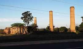 São Pedro - São Pedro-MS-Ruínas da antiga Cerâmica-Foto:Odilon Carlos.