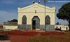 Selvíria - Selvíria-MS-Igreja de São João Batista-em reforma-Foto:Sergio Falcetti