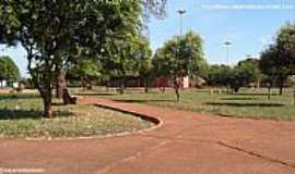 Selvíria - Selvíria-MS-Praça da Rodoviária-Foto:Sergio Falcetti