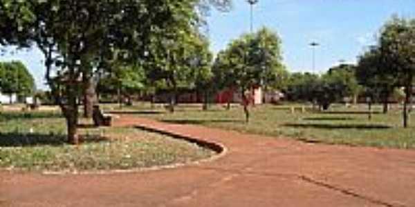 Selvíria-MS-Praça da Rodoviária-Foto:Sergio Falcetti
