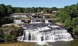 Sete Quedas - Cachoeira de Sete Quedas-MS-Foto:Cassio Scomparin