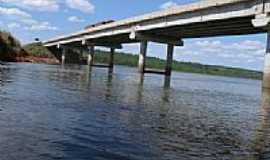 Sonora - Ponte sobre o Rio Correntes em Sonora-MS-Foto:emerson stanislaw
