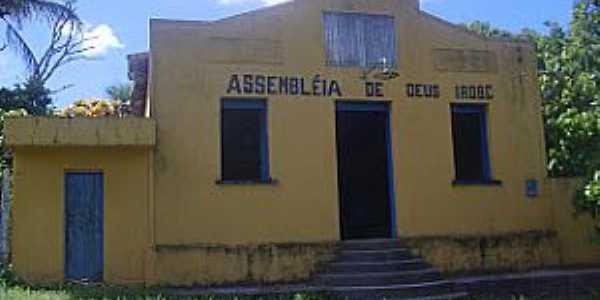 Boca do Córrego-BA-Primeira Igreja da Assembléia de Deus-Foto:wwwmemorialjubilados.