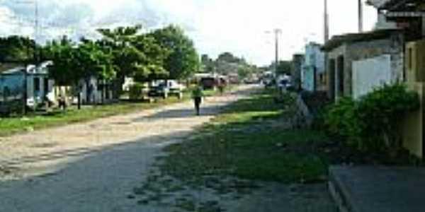 Rua de Boca do Córrego-BA-Foto:camaradebelmonte.