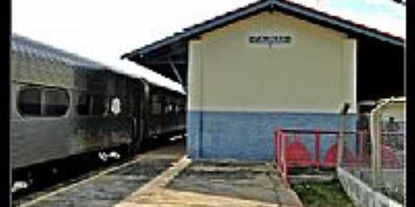 Estação Ferroviária de Taunay-MS-Foto:Roberta Soriano