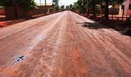 Vila Marques - Vila Marques-MS-Rua da cidade-Foto:www.aralmoreiranews.com.br