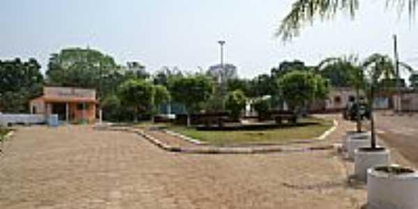 Praça Municipal Evaristo Silva-Foto:Nélio Oliveira
