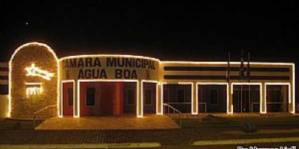 Água Boa-MT-Câmara Municipal-Foto:Marcos Liell
